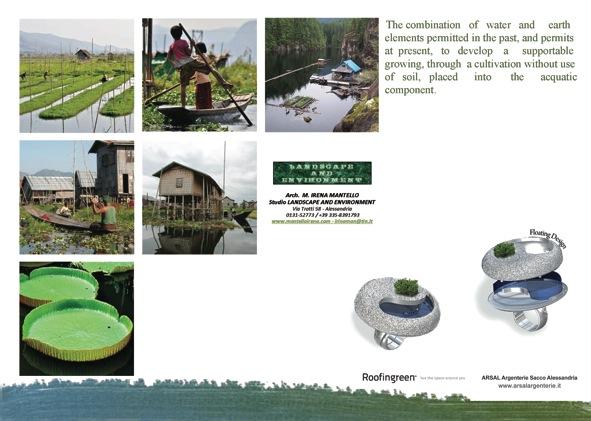 Volantino floating-garden